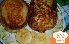 Фото рецепта: «Оладьи с бананом»