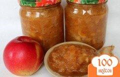 Фото рецепта: «Яблочная начинка для пирогов на зиму»