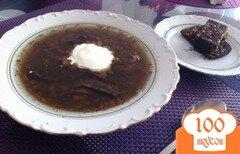 Фото рецепта: «Суп из чечевицы с грибами»
