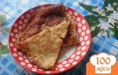Фото рецепта: «Омлет с рыбными консервами»