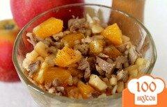Фото рецепта: «Мясной салат с апельсином»