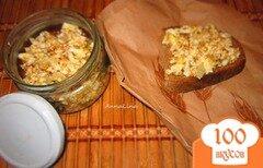 Фото рецепта: «Селедочное масло с икры и яйцом»
