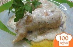 Фото рецепта: «Голени фаршированные в соусе с крылышками»