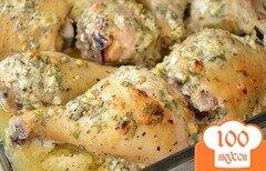 Фото рецепта: «Курица в маринаде по-гречески»