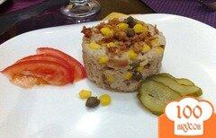 Фото рецепта: «Салат с тунцом и рисом»