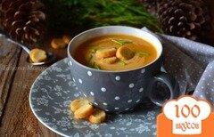 Фото рецепта: «Суп-пюре с овощами и рыбными консервами»