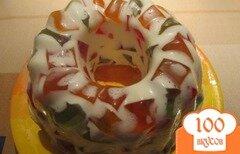 """Фото рецепта: «Торт """"Самоцветы"""" с печеньем»"""