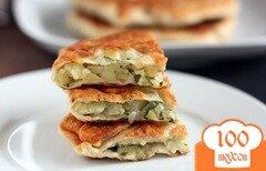 Фото рецепта: «Плацинды (молдавские лепешки) с картошкой»
