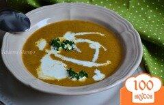 Фото рецепта: «Овощной суп с печеной тыквой»