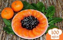 Фото рецепта: «Фруктово-ягодное желе «Подсолнух»»