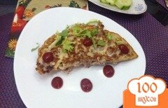 Фото рецепта: «Ленивый бризоль с черносливом и сыром»