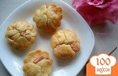 Фото рецепта: «Маффины с сыром и колбасой»