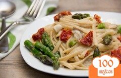 Фото рецепта: «Сливочная паста с пармезаном»