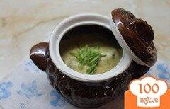Фото рецепта: «Печень из свинины запеченная с грибами, луком и сыром в сметанном соусе»