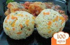 Фото рецепта: «Рисовый гарнир с овощами»