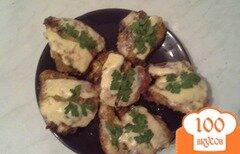 Фото рецепта: «Куриные грудки по домашнему с сыром»