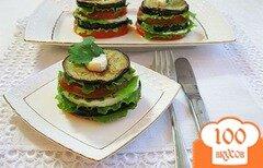 Фото рецепта: «Закуска из баклажанов»