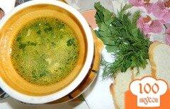 Фото рецепта: «Суп на курином бульоне, с вермишелью»