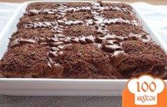 Фото рецепта: «Торт с шоколадным печеньем»