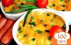 Фото рецепта: «Запеченный картофель по-французски»