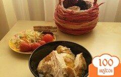Фото рецепта: «Курица запеченная в рукаве»