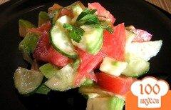 Фото рецепта: «Необычный обычный салат :)»