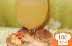 Фото рецепта: «Имбирный лимонад с корицей и яблоками»