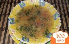Фото рецепта: «Гороховый суп на курином бульоне в мультиварке»