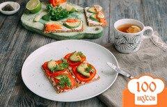 Фото рецепта: «Простые и полезные бутерброды на затрак»