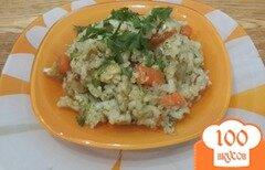 Фото рецепта: «Калейдоскоп - рис с овощами»