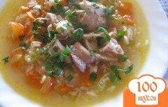 Фото рецепта: «Куриный суп со свежими помидорами»