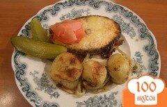 Фото рецепта: «Семга, запеченная с картофелем»