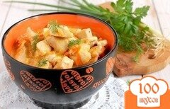 Фото рецепта: «Куриное филе в сливочном соусе в мультиварке»