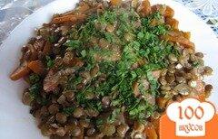 Фото рецепта: «Куриные окорочка с чечевицей и овощами»