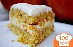 Фото рецепта: «Морковно – кокосовый торт»