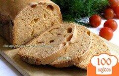 Фото рецепта: «Томатный хлеб с отрубями»