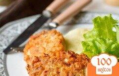 Фото рецепта: «Рубленые шницели из лосося»
