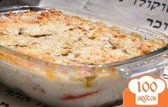Фото рецепта: «Запеканка из кабачков с соусом бешамель»