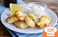 Фото рецепта: «Рыбные наггетсы с соусом Тартар»