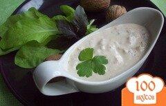 Фото рецепта: «Сливочно-ореховый соус»
