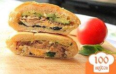 Фото рецепта: «Средиземноморский сэндвич с тунцом»