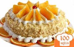 Фото рецепта: «Апельсиновый торт «Lambada»»