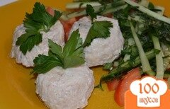 Фото рецепта: «Суфле из курицы (паровое)»