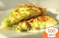 Фото рецепта: «Диетический омлет с кабачками»