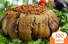 Фото рецепта: «Батенжен маклюби (перевернутый баклажан)»