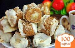 Фото рецепта: «Конфеты с банановой начинкой»