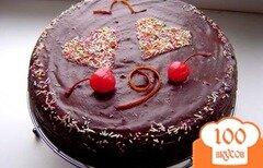 Фото рецепта: «Французский шоколадный торт»