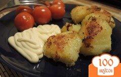 Фото рецепта: «Запечёный картофель с травами»