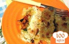 Фото рецепта: «Картофельный рулет: быстрый и простой завтрак»