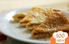 Фото рецепта: «Заварные блины на молоке»